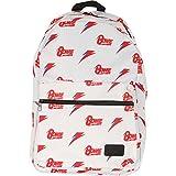 H3 Sportgear, LLC David Bowie Allover Print White Backpack Standard