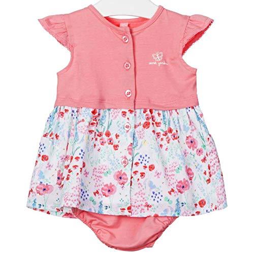 Losan - Vestido y Bloomer para bebé estampado de Secret Garden rosa...