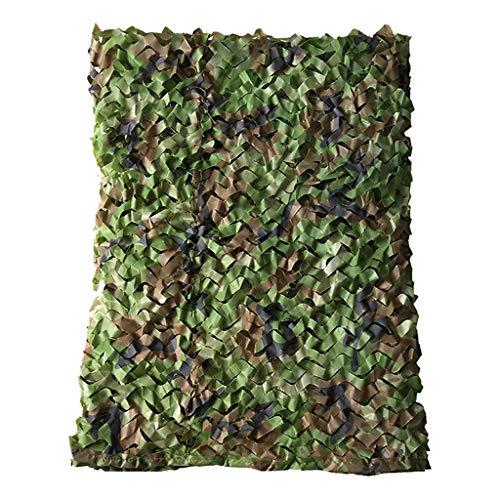 Filet de camouflage des bois Filet de camouflage de chasse durable Stores en tissu d'Oxford Filet de parasol en tissu facilement coupé et jointif, pour le tir de camping Décoration de fête de chasse