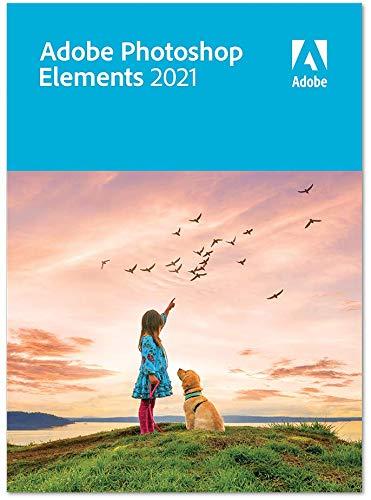 Adobe Photoshop Elements 2021 - Upgrade|Upgrade|1 Gerät|unbegrenzt|PC/MAC|Disc|Disc