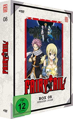 Fairy Tail - Box 8, Episoden 176-203 [4 DVDs]