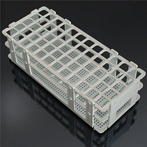 EsportsMJJ 3 Lagen 60 Löcher Kunststoff Test Tube Rack Holder Weiß/Blau - Weiß