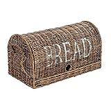 Vintage-Line Brotbox Bread klein Rattankorb Brotkorb Aufbewahrung Naturrattan