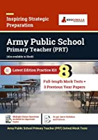Army Public School (PRT) Exam 2021 8 Full-length Mock tests (Solved) + 3 Previous Year Paper Complete Preparation Kit for Army Public School AWES Primary Teacher 2021 Edition