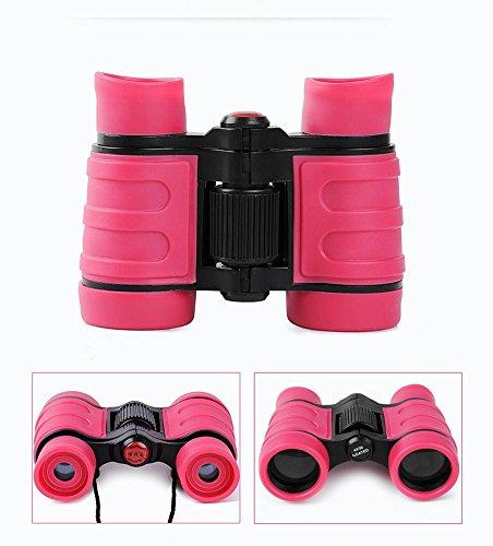 X-LIVE Ferngläser für Kinder Outdoor Kinderfernglas Spielzeug für Jungen Mädchen Studenten Geschenke Leicht Mini Fernglas Rosa
