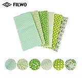 FILWO 8 STK Baumwollstoff Meterware Stoffpakete Patchwork