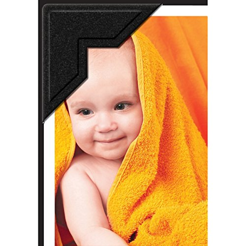 Lineco Self-Adhesive Photo Corners, Archival Quality Acid-Free Pressure Sensitive, 0.5 Inch, Useful for Scrapbooking Mounting on Matboards DIY (Pack of 252) Black