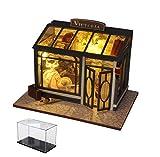 Kit De Casa De Muñecas Casa En Miniatura De Madera 3D, Habitación De Casa De Madera Mini 3D Tienda De Ropa Victoriana Modelo Arquitectónico En Miniatura Adornos Artesanales
