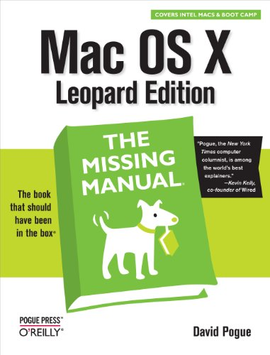 Mac OS X Leopard: The Missing Manual (English Edition)