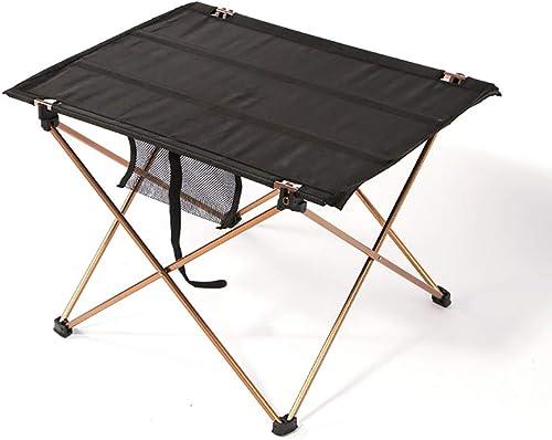 LBAFS Table Pliante Extérieure Table De Pique-Nique en Aluminium Portative Table De Tissu d'Oxford pour Le Camping De Voyage De Barbecue