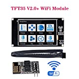 PoPprint TFT35 V2.0 Smart Controller Display + WIFI Modul, TFT3.5 Zoll Touchscreen 3D Drucker Teile Für SKR V1.3 PRO MINI E3 Steuerkarte