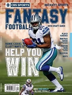 CBS Sports 2016 Fantasy Football Draft Guide - Fall Edition