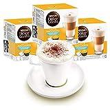 Nescafé Dolce Gusto Lot de 3 Paquets de Tasses à Latte Macchiato Ungesüßt, café, Capsules de café