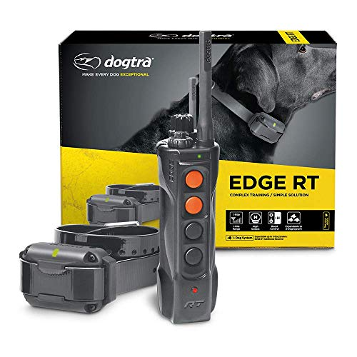 Dogtra Edge RT Long Range High-Output 1-Mile Waterproof 3-Dog Expandable Remote Dog Training E-Collar with Combination Boost Control for Professionals