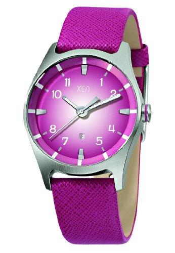 XEN Damenuhr pink XQ0209