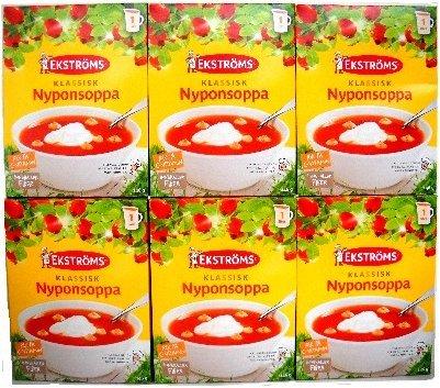 Ekstroms Nyponsoppa (Rose Hip Soup) 146 g / 5.1 oz - 6-Pack