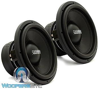 Pair of SA-12 D2 REV.3 - Sundown Audio 12  750W Dual 2-Ohm SA Series Subwoofer SA12D2