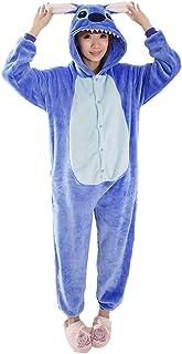 Auspicious beginning Costume Cosplay Unisex-Adulto Lilo & Stitch Stitch Fumetto Pigiami Abbigliamento da casa Lounge Wear