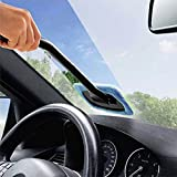 Handy Handhold Car Wash Brush Glass Cleaner Microfiber Window Windshield Wiper Cloth Clean Tools Washable Fast Easy Shine Cleaner Dirty Remover Tool Free shipping