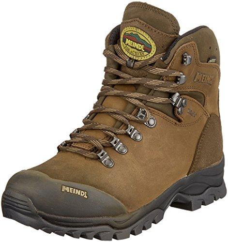 Meindl Kansas GTX, Chaussures de Randonnée Hautes Homme, Marron (Dunkelbraun 46), 41.5 EU