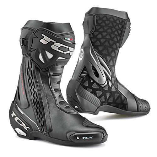 Motorcycle TCX RT-Race Boots WP Black 42