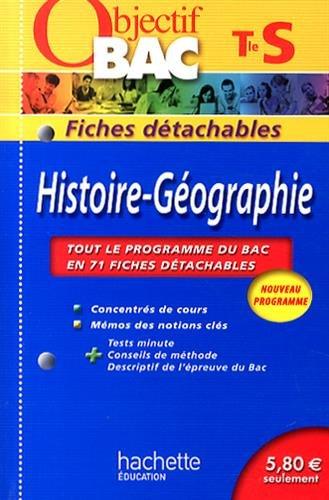 Objectif Bac Fiches détachables - Histoire Terminale S PDF Books