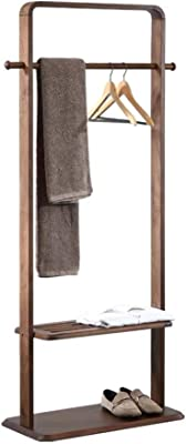 Amazon.com: Cxjff Floor Standing Coat Rack Clothes Hat Stand ...