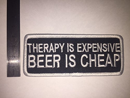 Ecusson Patches Aufnaher Toppa?? ?Therapie Dure bier goedkoop?? strijkijzer.