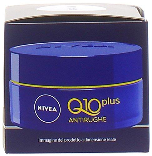 Nivea Q10 Power Antirughe Crema Notte, Rassoda e Tonifica la Pelle - 50 ml