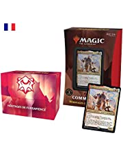 Magic: The Gathering- Deck Commander Strixhaven – Héritages de Forsapience (Rouge-Blanc)