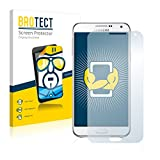 BROTECT Schutzfolie kompatibel mit Samsung Galaxy E7 (2 Stück) klare Bildschirmschutz-Folie