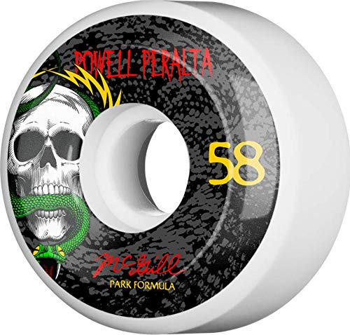 Powell Peralta™ Mike McGill Snake 58mm 103A White (4 pk)