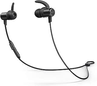 【改善版】Anker SoundBuds Slim(ワイヤレスイヤホン カナル型)【Bluetooth 5.0 / 10時間連続再生 / IPX7防水規格 / マイク内蔵】iPhone、Android各種対応(ブラック)