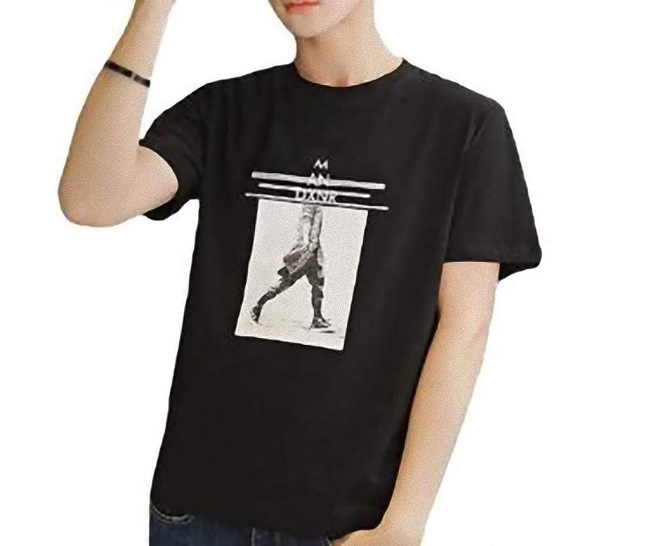 コモランマ窒素時制[ SmaidsxSmile(スマイズ スマイル) ] Tシャツ カットソー 半袖 インナー トップス イラスト プリント ロゴ メンズ
