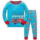 Pijama para Niño-Pijamas de Calabaza de Halloween para Niños-Todos los Santos Pijama-Víspera de Todos los Santos Pijama 5-6 años