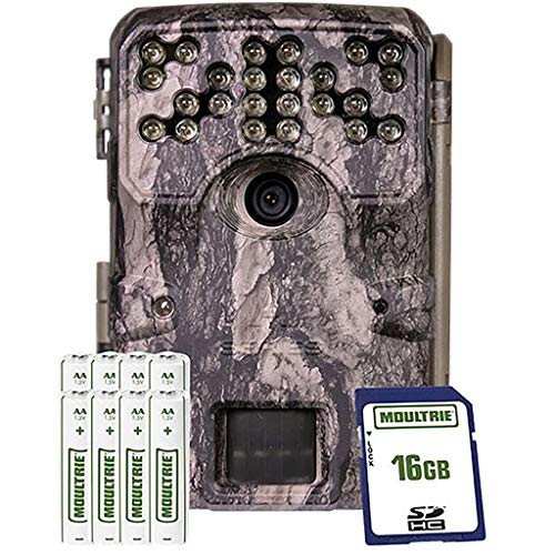 Moultrie A900i Bundle Trail Camera (2020)   Batteries   16 MB SD Card  ...