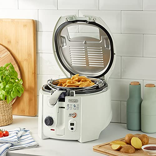 DeLonghi 551999 F 28533 Friteuse rotoFry, weiß - 6