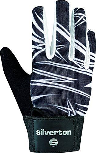 Silverton Erwachsene Handschuhe Cross Bone, schwarz/Weiß, S