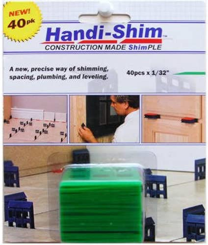 Handi-Shim Green HS13240GR Plastic Construction Shims Spacers All stores Mesa Mall are sold