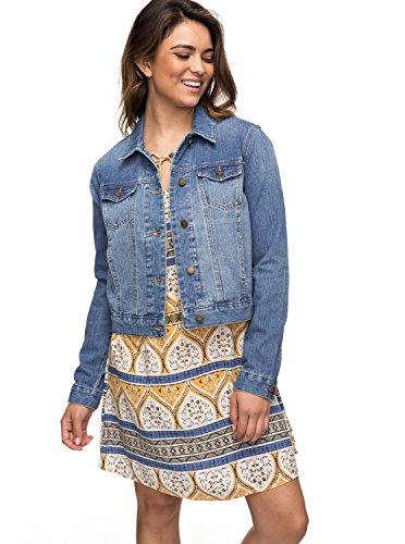 Roxy Hello Spring - Denim Jacket for Women - Jeansjacke - Frauen - XS - Blau
