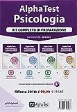 Alpha Test. Psicologia. Kit completo di preparazione: Manuale di preparazione-Esercizi commentati-Prove di verifica-6000 quiz