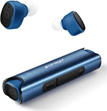 CIRAGO Wireless Earbuds Bluetooth 5.0 in-Ear Earphones with Aluminum Alloy Charging Case, TWS HiFi Stereo Headphones, Noise Cancelling Headset, IPX7 Waterproof for Sport