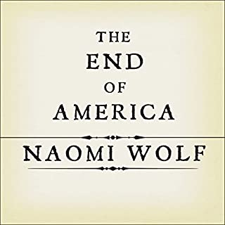 The End of America audiobook cover art