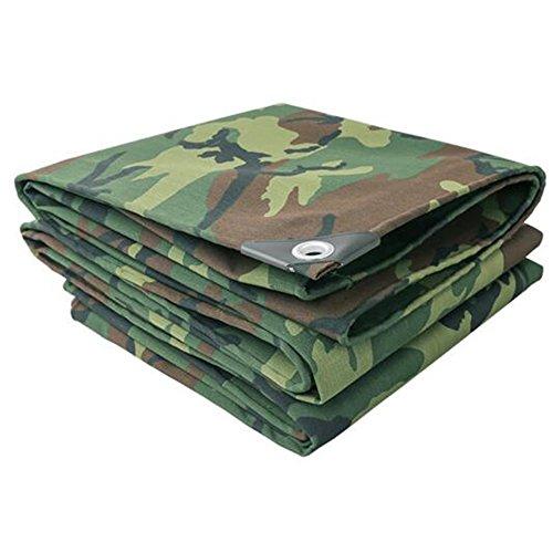 MEIDUO Bâches Bâches imperméables   Couvercle de remorque de tente au sol   Grande bâche en plusieurs tailles 500g/0.7mmm² pour l'extérieur (Couleur : Camouflage cloth, taille : 3 x 5m)
