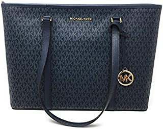 Michael Kors Women's Sady Carryall Shoulder Bag, Pvc Leather - Admiral