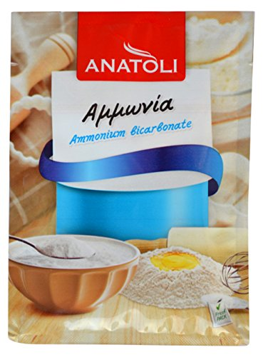 Ammonia Bicarbonate Anatoli 30g from Greece (2 pack 60g total)