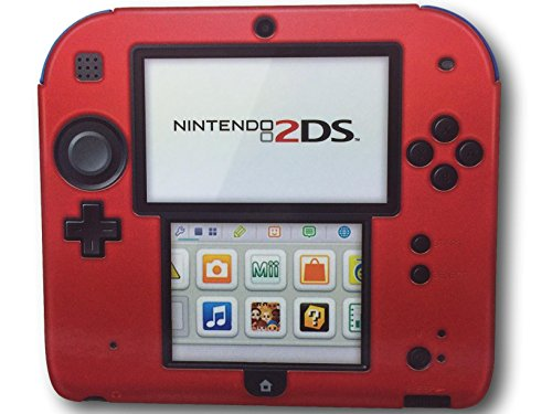 PDP Silicone Case/Cover for Nintendo 2DS (Red)