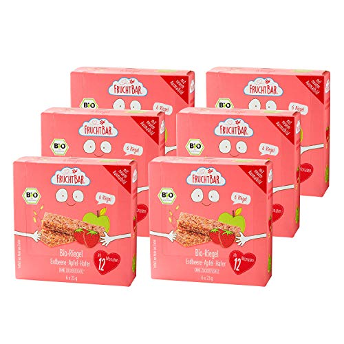 FruchtBar Bio-Riegel Erdbeere