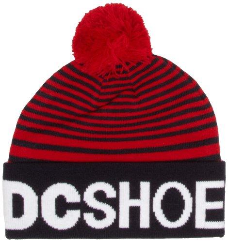 DC Shoes - Flapstar - Bonnet - Homme - Rouge (Dc Navy) - Taille Unique