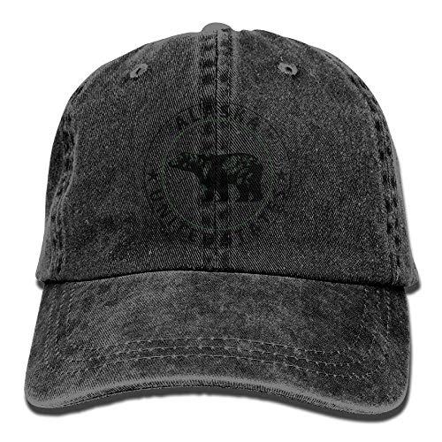 Surce Alaska United State Denim hoed verstelbaar heren honkbalhoed